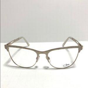 Cazal MOD 4257 COL 001 Titanium Eyeglasses New